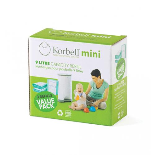 Korbell MINI Refill 3-pack