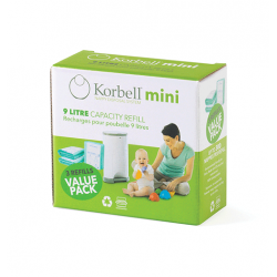 Korbell mini Refill 3-pack